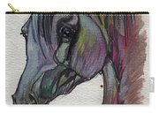The Grey Horse Drawing 1 Carry-all Pouch