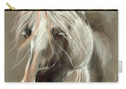 The Grey Horse Soft Pastel Carry-all Pouch