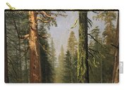 The Grizzly Giant Sequoia Mariposa Grove California Carry-all Pouch