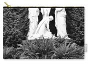 The Grotto - Calvary Scene - Pink Flower Carry-all Pouch