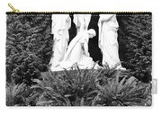 The Grotto - Calvary Scene With Border Carry-all Pouch