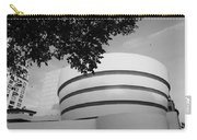 The Guggenheim Museum In Black And White Carry-all Pouch