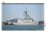 The Guided-missile Frigate Uss De Wert Carry-all Pouch