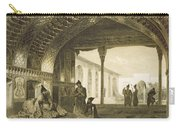 The Hall Of Mirrors In The Palace Carry-all Pouch by Grigori Grigorevich Gagarin