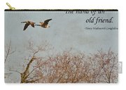 The Hand Of Friendship Carry-all Pouch