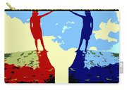 The Hand Of Friendship Carry-all Pouch by Patrick J Murphy