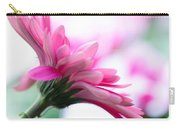 The Happy Flower Pink Daisy Carry-all Pouch
