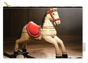 The Happy Little Rocking Horse In The Attic Carry-all Pouch