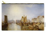 The Harbor Of Dieppe Carry-all Pouch