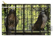 The Hawks From The Series The Imprint Of Man In Nature Carry-all Pouch