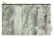 The Healing Of The Woman With An Issue Of Blood Carry-all Pouch by William Blake