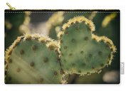 The Heart Of A Cactus  Carry-all Pouch