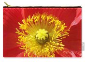 The Heart Of A Red Poppy Carry-all Pouch