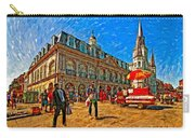 The Heart Of New Orleans Carry-all Pouch by Steve Harrington