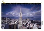 The Heart Of San Francisco Carry-all Pouch by Mountain Dreams