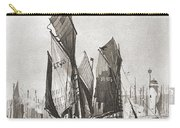 The Herring Fleet, Scarborough Carry-all Pouch