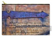 The High Calling Of God In Christ Jesus Carry-all Pouch