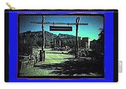The High Chaparral Set  1984 Collage Old Tucson Arizona 1984-2012 Carry-all Pouch