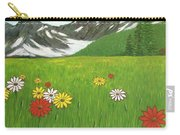 The Hills Are Alive With The Sound Of Music Carry-all Pouch