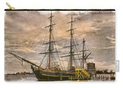 The Hms Bounty Carry-all Pouch by Debra and Dave Vanderlaan
