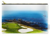 The Hole 7 At Pebble Beach Golf Links Carry-all Pouch
