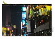 The Holidays In Time Square Carry-all Pouch