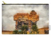 The Hollywood Tower Hotel Disneyland Photo Art 02 Carry-all Pouch