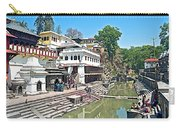 The Holy Bagwati River In Kathmandu-nepal- Carry-all Pouch