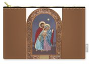 The Holy Family For The Holy Family Hospital Of Bethlehem With Frame Carry-all Pouch