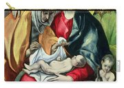 The Holy Family With St Elizabeth Carry-all Pouch