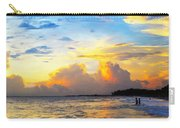 The Honeymoon - Sunset Art By Sharon Cummings Carry-all Pouch by Sharon Cummings