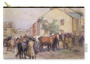 The Horse Fair  Carry-all Pouch by John Atkinson