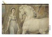 The Horse Carry-all Pouch by William Blake