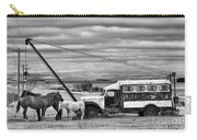 The Horses And The Welding Truck Carry-all Pouch