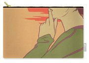 The Hour Of Silence Carry-all Pouch by Henri Georges Jean Isidore Meunier