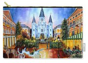 The Hours On Jackson Square Carry-all Pouch