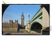 The Houses Of Parliament In London Carry-all Pouch