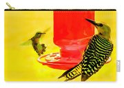 The Humming Bird And Gila Woodpecker Carry-all Pouch
