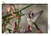 The Hummingbird And The Slipper Plant  Carry-all Pouch