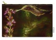 The Hummingbird Digital Art Carry-all Pouch
