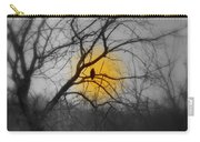 The Hunters Moon And The Barred Owl Carry-all Pouch