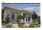 The Huntington Library Rose Garden Tea House Carry-all Pouch