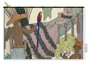 The Idle Beauty Carry-all Pouch by Georges Barbier