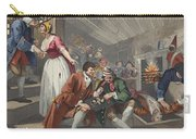 The Idle Prentice Betrayed Carry-all Pouch by William Hogarth