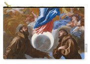 The Immaculate Conception With Saints Francis Of Assisi And Anthony Of Padua Carry-all Pouch