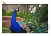 The Indian Peafowl Carry-all Pouch