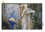 The Inspiration  Carry-all Pouch by Gustave Moreau