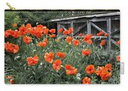 The Inspiration Of Orange Poppies Carry-all Pouch