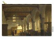 The Interior Of The Bakenesserkerk. Haarlem Carry-all Pouch