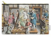 The Invention Of Oil Paint, Plate 15 Carry-all Pouch